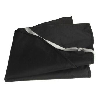 Patio Outdoor Yard Garden Umbrella Parasol Cover Zipper Waterproof(Black) - intl