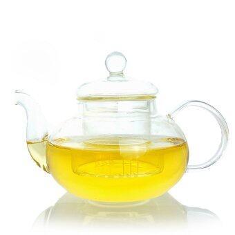Peacock Tea ชุดกาน้ำชาแก้วทนไฟใส คุณภาพดี - 3