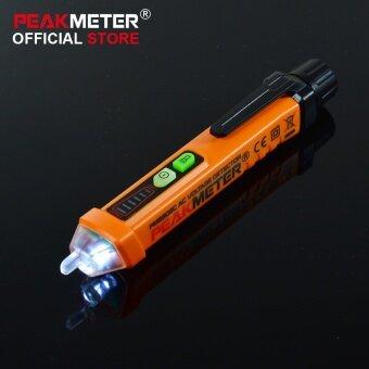 PEAKMETER PM8908C Non-contact AC Voltage Detector Tester Meter12V-1000V Pen style Voltage Detector - intl