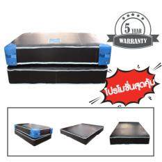 PEERLESS ที่นอนยางเสริมฟองน้ำอัด 2 หน้า หุ้ม PVC ขนาด 3.5 ฟุต หนา 8 นิ้ว รุ่น Passion - 3.5 PVC M8 (PPP)