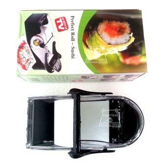 ต้องการขาย Perfect Sushi Roll เครื่องม้วนซูชิ เครื่องทำซูซิ อุปกรณ์ทำซูชิ -สีดำ
