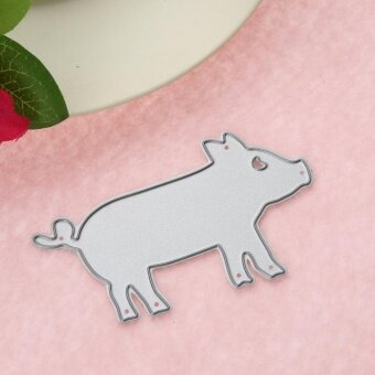 Pig DIY Metal Stencil Scrapbook Craft Cutting Die - intl - 4