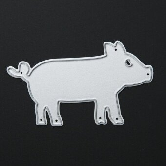 Pig DIY Metal Stencil Scrapbook Craft Cutting Die - intl - 5