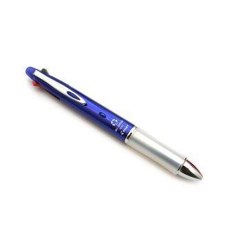 Pilot Dr.Grip 4+1 ปากกา 0.7mm 4 สี + ดินสอ 0.5mm(ด้ามสีน้ำเงิน)