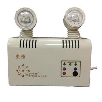 Power Bright ไฟฉุกเฉิน LED PZ 604 2x9 w (White)