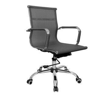 รีวิว Prelude เก้าอี้สำนักงานMASZO สีดำเงิน รุ่น PB-192L
