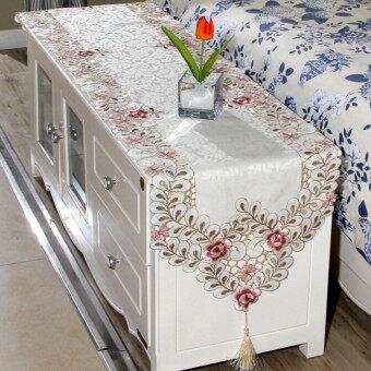 ลดราคา ดอกไม้ประดับโต๊ะเสื่อผ้าปูโต๊ะผ้าปูตกแต่งบ้านงานแต่งงาน