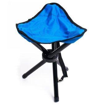 โปรโมชั่นพิเศษ เก้าอี้พับสามขาขนาดพกพา (สีเขียว)