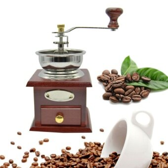 ประกาศขาย เครื่องบดกาแฟ เครื่องเทศ มือหมุน กล่องไม้ คลาสสิค สวยน่ารักแต่งบ้านได้