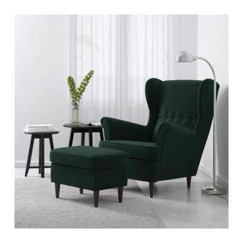 เก้าอี้นวมวิงแชร์ ดยูปาร์ป เขียวเข้ม
