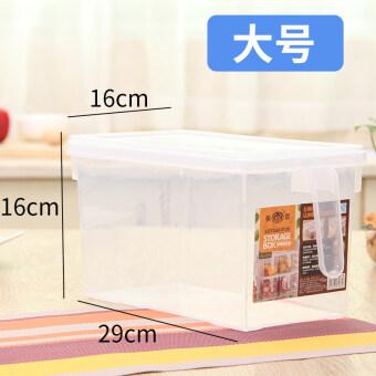พลาสติกสไตล์ญี่ปุ่นห้องครัวปิดผนึกกล่องเก็บกล่องเก็บของตู้เย็น