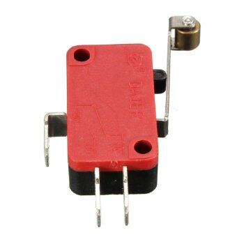 Push Button AC 250V 16A Microswitch SPDT Micro Limit Switch 27mmRoller - intl