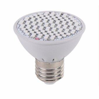 QQ SHOPหลอดไฟ 60 LED ปลูกต้นไม้ Grow Light สำหรับโคมไฟ 220V