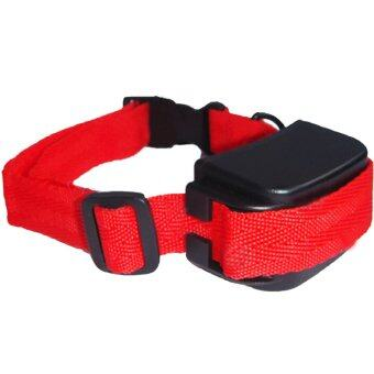 Rechargeable Electronic Shock Anti Bark Pet Dog Training Collar Control Stop Barking Red US Plug
