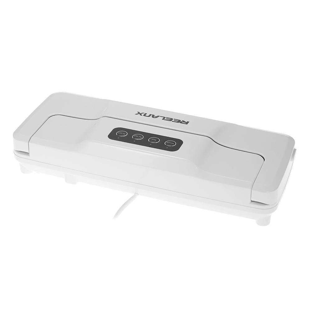 REELANX Household Automatic Vacuum Sealer Fresh Food Saver Packaging Sealing Machine With Suction Pipe
