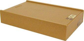 Relux กล่องเก็บเอกสาร ขนาด F4 รุ่น MDF-F4 (สีธรรมชาติ)