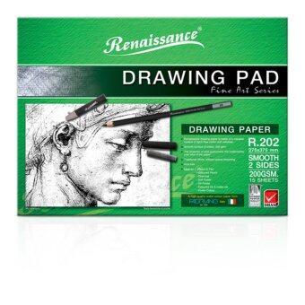 ต้องการขายด่วน Renaissance เรนาซองซ์ กระดาษวาดเขียน แพดซี R202 ชนิดเรียบ