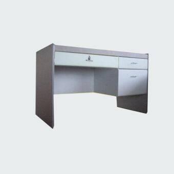 RF Furniture โต๊ะทำงาน 120 cm รุ่น BT-123 ( สีแกนรนิต/เทา ) ผิว pvcกันน้ำและรอยขูดขีด