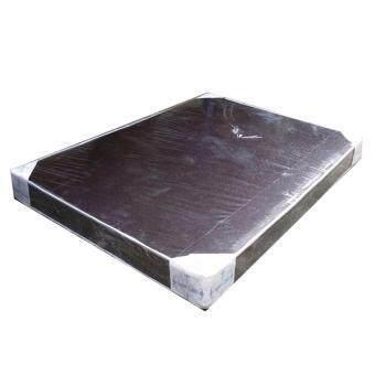 RF Furniture ที่นอนฟองอัดล้วน เกรด A ขนาด 5 ฟุต หนา 6 นิ้ว หุ้มหนังpvc ( สีน้ำตาล )