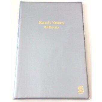 สมุดสะสมธนบัตร Robin 6/60 เทา ชุด1เล่ม