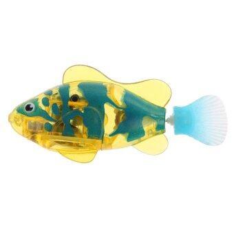 เรียกลูก Robot Fish ตุ๊กตา (สีเหลือง/สีน้ำเงิน)