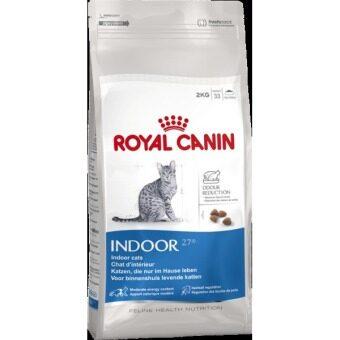 Royal Canin Indoor อาหารสำหรับแมว อายุ 1 - 10 ปี  2 kg.