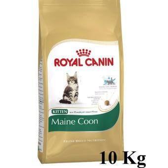 Royal Canin Kitten Maine Coon 10Kg โรยัลคานิน สูตรสำหรับลูกแมวพันธุ์เมนคูน ขนาด10กิโลกรัม
