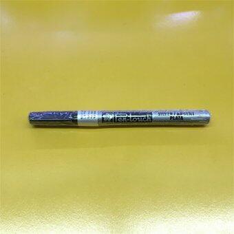 Sakura ซากุระ ปากกาเพ้นท์ Paint หัวเข็ม สีเงิน
