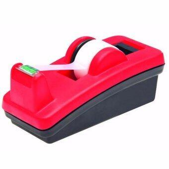 SCOTCH® Dispenser Black/Red C-4210 แท่นตัดเทปแบบตั้งโต๊ะ สีทูโทนสีดำ แดง (แพ็ค 2 ชิ้น)