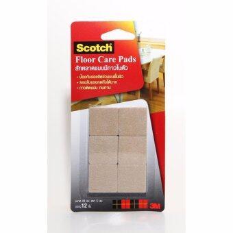 ต้องการขาย Scotch® Floor Care Square Beige 28 MM (12 PCS/CARD) สก๊อตซ์® สักหลาดแบบมีกาวในตัว ขนาด 28 มม. สีเบจ (สี่เหลี่ยม) (ชุด 3 แพ็ค)