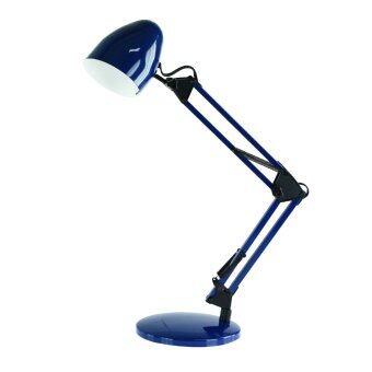 ขาย SECO โคมไฟตั้งโต๊ะ รุ่น TE-254 ขั้วE27 (สีน้ำเงิน)