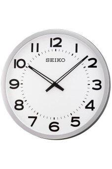 Seiko นาฬิกาแขวนขนาดใหญ่ รุ่น QXA563S – สีเงินหน้าขาว