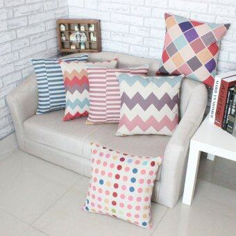 Set of 6 Style Shape Throw Pillow Case Pillow Case Sofa Home Decor Cushion Cover (No Filling)