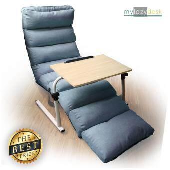 ต้องการขาย ShabbyChic โซฟา-ญี่ปุ่น เก้าอี้ญี่ปุ่น (แพคคู่รุ่น H01-205cmสีฟ้า+J01สีไม้อ่อน) โซฟาปรับระดับ