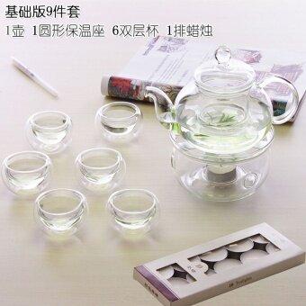 สินค้ายังคงเป็นผลไม้ชาแดงชาถ้วยดอกไม้กาน้ำชา