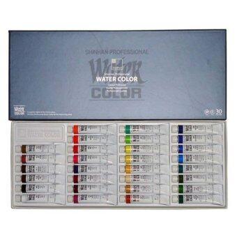SHINHAN Watercolors Artist Paint Tubes Set 30 Colors 7.5ml Each