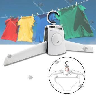 Sinlin ไม้แขวนเสื้อไฟฟ้า ไม้แขวนเสื้ออบผ้า Portable Hang Dryer Clothes Care รุ่น EHD202-SI - สีขาว