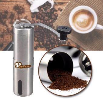 ต้องการขายด่วน Sinlin เครื่องบดกาแฟแบบพกพา เครื่องบดกาแฟมือหมุนสแตนเลส Stainless Steel Burr Coffee Grinder Manual รุ่น MCG1-FI