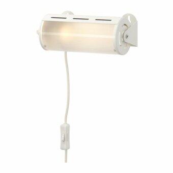 SMYG โคมไฟติดผนัง สีขาว