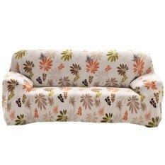 Sofa Cover Cloth Art Spandex Stretch Printed Slipcover - intl