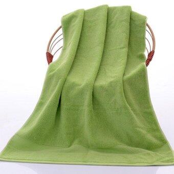 Soft Cotton Bath Towel Highly Absorbent Eco-Friendly Quick Drying - intl