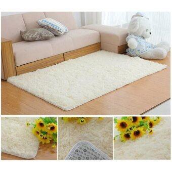 LoveCapet พรมปูพื้นห้อง สีขาว ขนยาว 4.5 cm ขนาด 200x300 cm