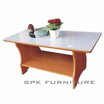 SPK Shop โต๊ะกลางโซฟา วินเซอร์ หน้าโฟมก้า ( สีบีช )