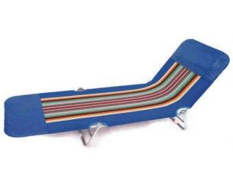 อยากขาย SPK Shop เตียงสนาม 3 พับ ผ้าขนปุย ปรับเอนนอนได้ 3 ระดับ - สีน้ำเงิน