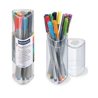 รีวิว ปากกาไตรพลัสไฟน์ไลน์เนอร์STAEDTLER 12สี