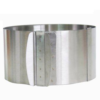 Stainless Steel 6-12 inch Adjustable Cake Mousse Mould Mold Cake\nBakeware Setting Ring Baking Tools