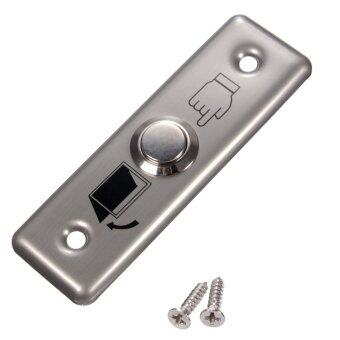 Stainless Switch Panel Door Exit Push Release Button Access Control