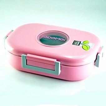 กล่องข้าวแบบ Stanlessเก็บอุณหภูมิ ขนาด 710 ml. สีชมพู
