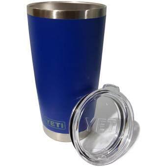 แก้วน้ำ เก็บความร้อน เก็บความเย็น Stanless YETI Cups 20oz (Blue)