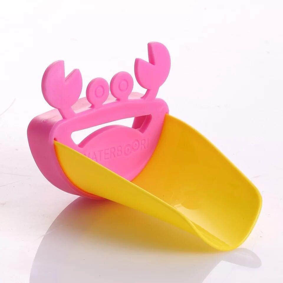 Sunshop Random Color Cute Crab Shape Faucet Extender ChildrenGuiding ...
